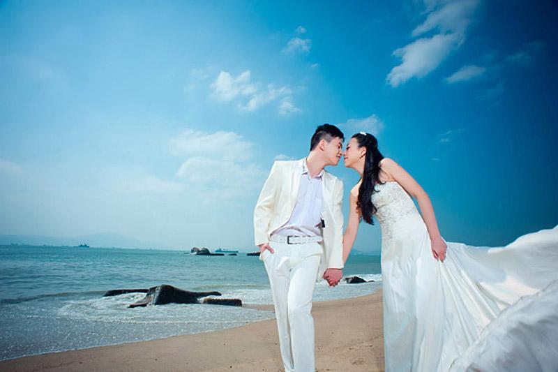 苏梅岛婚纱