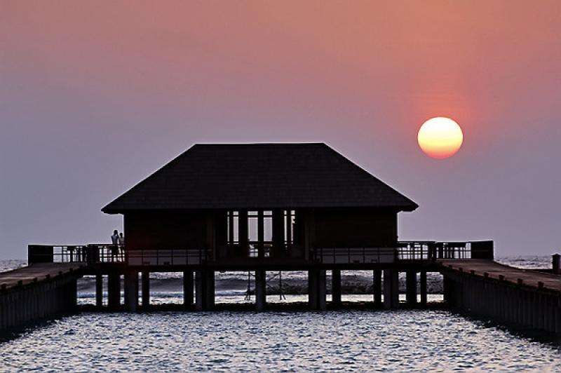 天堂岛看日出