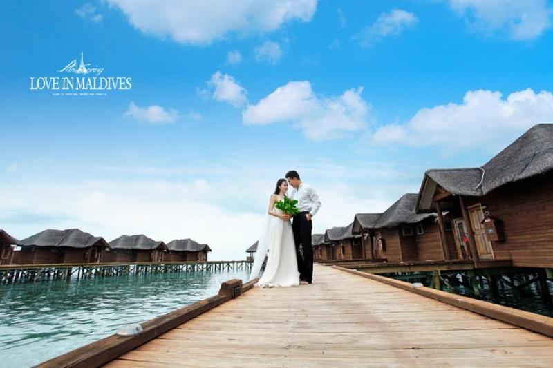 马尔代夫蜜月浪漫婚礼自由行
