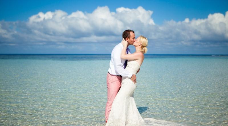 斐济BLUE LAGOON 巡游蜜月浪漫婚礼