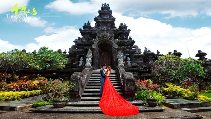 巴厘岛婚纱-千年之恋