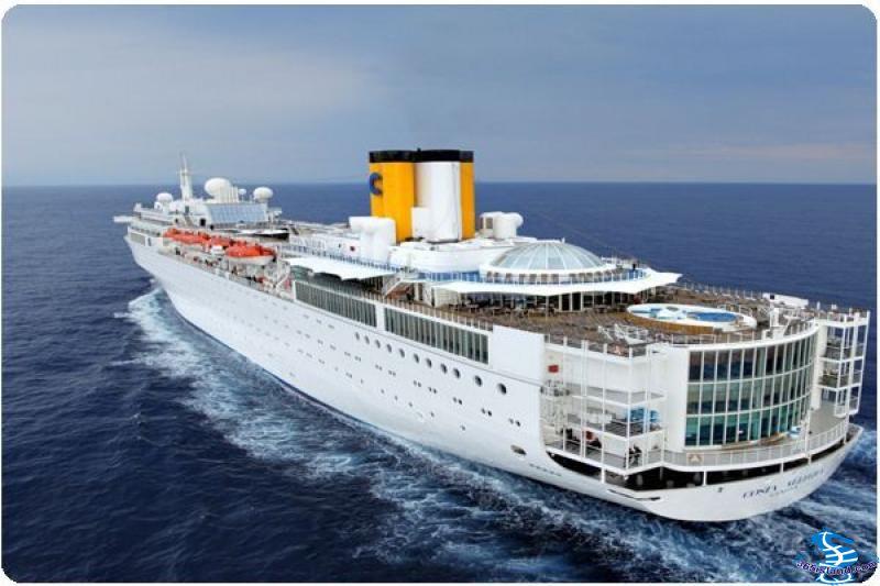 <歌诗达邮轮大西洋号环球86天>上海往返,单船票,中国首个环游邮轮,圆梦歌诗达