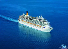 <歌诗达邮轮邮轮赛琳娜号>上海-济州-鹿儿岛-上海5天4晚游(暑假盛大包船,早订有优惠)